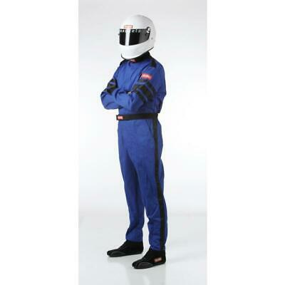 Racequip Racing Suit 110023; 110-Series SFI 3.2A/1 Medium Single Layer Blue