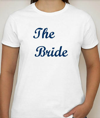 THE BRIDE Wedding Party T-Shirt