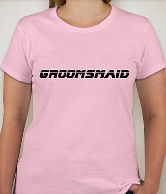 GROOMSMAID Wedding Party T-Shirt