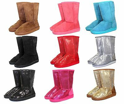 Aling k New Blink Cute Wedding Church Party Kids Youth Winter Girls' Boots Shoes