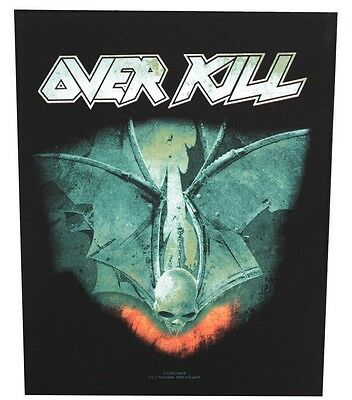Overkill - For Those Who Bleed  Backpatch Neuf