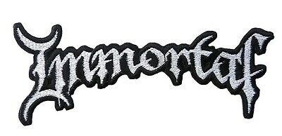 Immortal - Logo - Cut Out  Patch/aufnäher Neuf