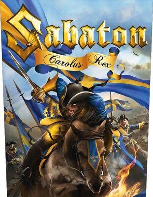 Sabaton - Carolus Rex  Backpatch Neuf