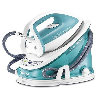 Tefal GV6720 Effectis 2200W 1.4L Anti Scale Steam Generator in Turquoise