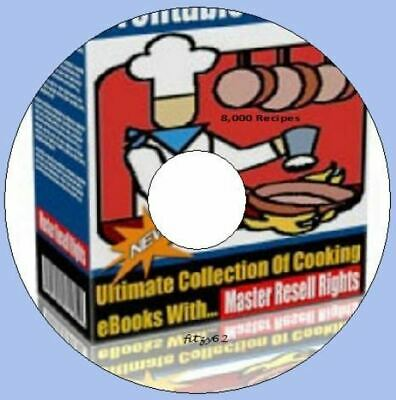 Over 8,000 Recipes - Cooking Ebook Collection CD Rom