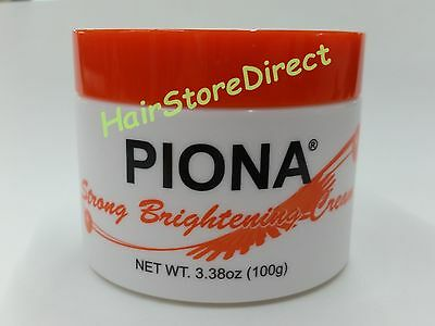 Piona Strong Bleaching Cream 4oz is Now 3.38oz Face Skin Lightening Brightening