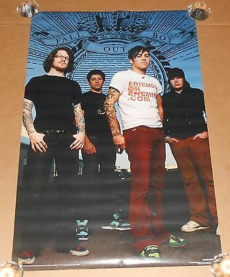 Fall Out Boy All About Boy Poster 2006 Original 34x22 RARE