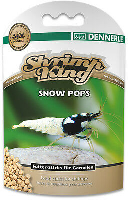 Shrimp King Snow Pops Snowflake Food - for Cherry Crystal Tiger Shrimp