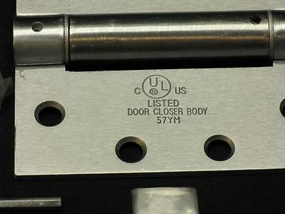 """4-1/2"""" x 4.5"""" COMMERCIAL SPRING HINGE DOOR CLOSER 26D UL LISTED FOR FIRE DOORS"""