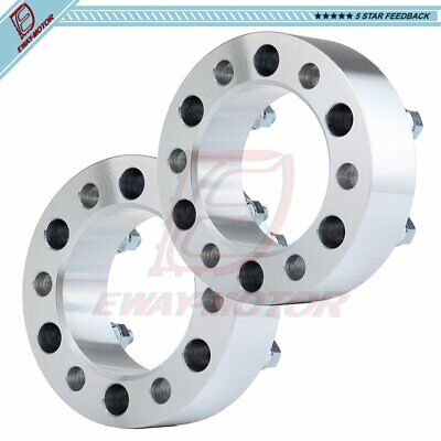 """4 pc 8X6.5 to 8X6.5 Wheel Spacers Adapters fits Most 8 Lug Chevy GMC 2"""" Inch"""