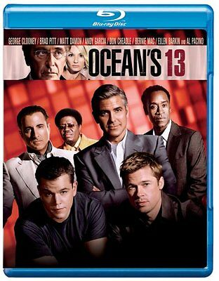 Blu Ray OCEAN'S THIRTEEN - brand new and sealed region B