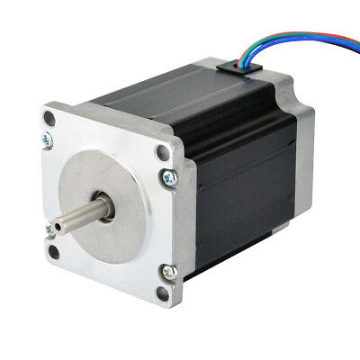 1.9Nm Nema 23 Stepper Motor 2.8A 4-wires 6.35mm Shaft DIY CNC Mill Lathe Router