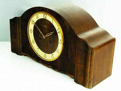 Pure Art Deco  Kienzle Chiming Mantel Clock With Special Potsdamer  Chimes