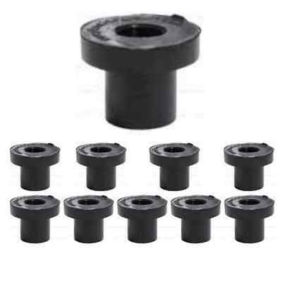 10 x 6mm /4mm Grommet Tank Connector Pipe Fittings Water Hydroponics Irrigation