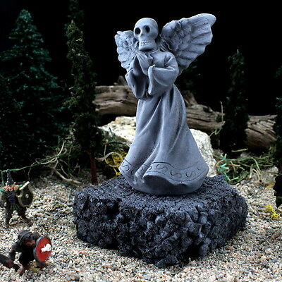 CUSTOM WARGAMING/FANTASY MINIATURES;SKULL ANGEL w/ PRAYING HANDS