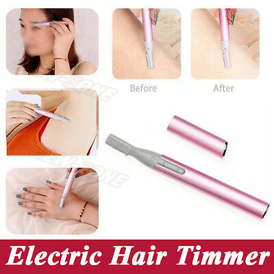 Cordless Electric Lady Shaver Bikini Legs Eyebrows Trimmer Shaper Hair Remover