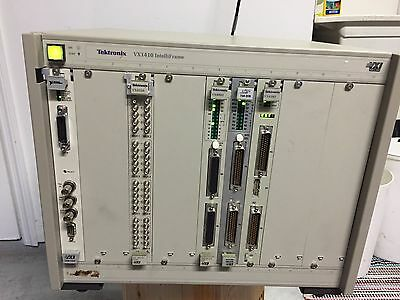 Tektronix VX1410 IntelliFrame VXI Plug & Play 12-Position Mainframe