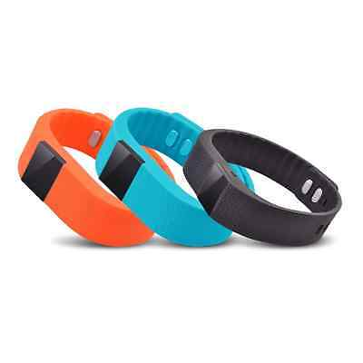 TW64 Bluetooth Smart Watch Smartband Wristband Band Pedometer For Android IOS UK