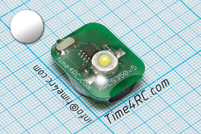Super bright 1W LED beacon navigation light recover lost RC flying model White