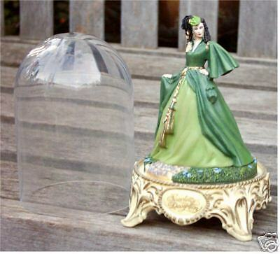 Franklin Mint Gone With The Wind Scarlett's Deception Bell Jar
