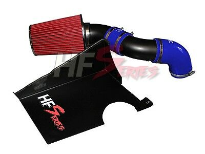 HG Motors. Luftfilter Cold Air Intake Kit Black Silikon blau E6 für A3 Golf7