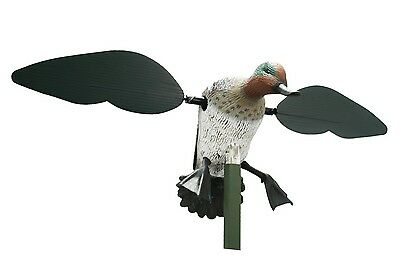 New Authentic Mojo Outdoors Teal Spinning Wing Mallard Duck Decoy HW8101