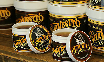 Suavecito Pomade- 4oz- Firme or Original Hold