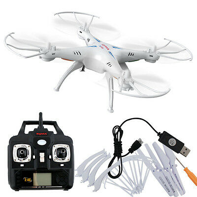 Radio Control X5S-1 2.4Ghz 4CH 6-Axis Gyro RC Quadcopter Drone W/ 2MP Helicopter