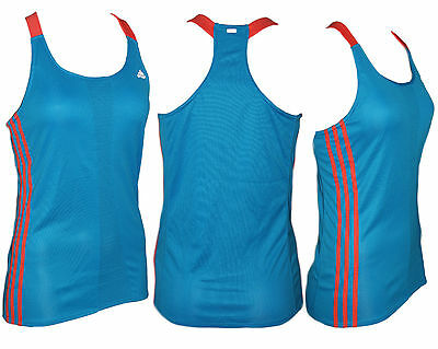 adidas Damen Tank Top RSP CUP TANK W blau orange 40 44 M L NEU @161