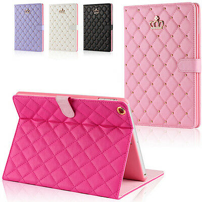 New Luxury PU Leather Smart Case Stand Cover for Air ipad mini/ ipad 2/3/4/5