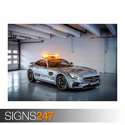 Car Poster Photo Poster Print Art * All Sizes 9116 2016 MERCEDES AMG GT S