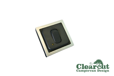CBE 12v Light Switch With led Indicator. Campervan/Motorhome In-Line Switch SQ