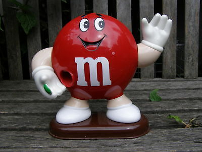 Rare 1992 Mars Incorporated M&m Red Candy Dispenser