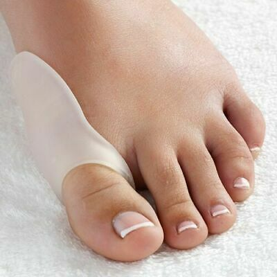 1 Pair of FootTrek Fabric Gel Bunion Pads to Protect Painful Toe Hallux Valgus