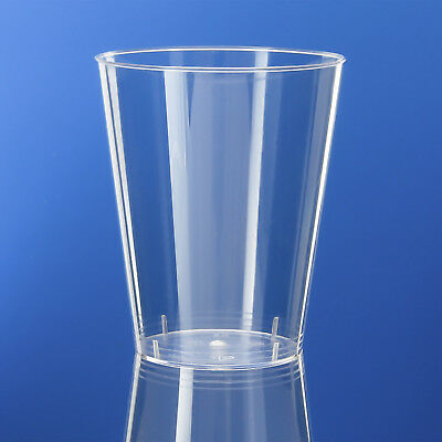 Plastic Tumblers/Glasses/Cup Hard Disposable Quality, 7oz/200ml, Party Goods x40