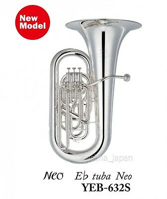 YAMAHA Eb tuba YEB-632S Neo 4-Piston BB-66D4 Brass Band from Japan NEW!!