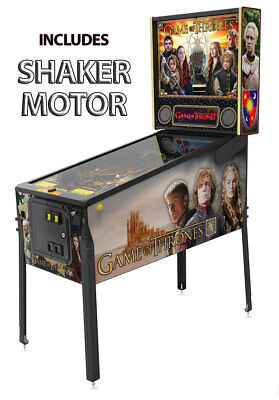 Stern Game of Thrones Pro Pinball Machine with Shaker Motor