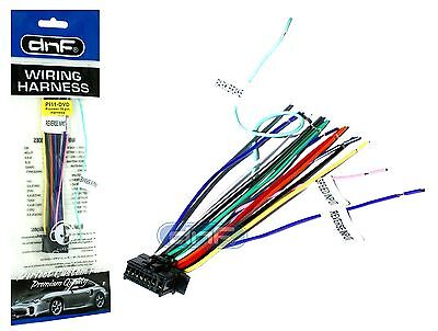 pioneer deh 1300mp deh1300mp wiring harness same day new pioneer wire harness avh x6700 dvd sm deh same day shipping