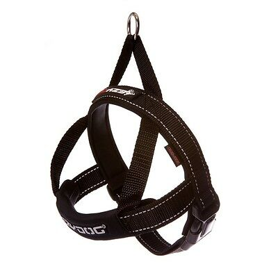 Ezydog Quick Fit Dog Harness - Small - Black - Free Delivery