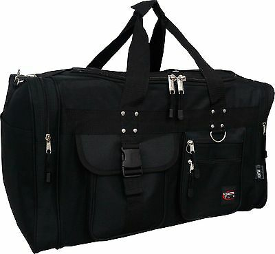 "19""/22""/25""/28""/30"" Heavy Duty Polyester Duffle Bag/Gym/Sports carry-on Duffle"