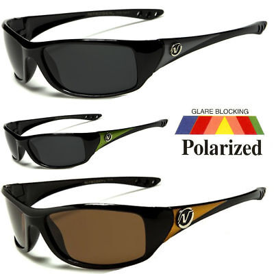 Polarized Men Wrap Around Fashion Sunglasses Fishing Golf Running Sport Glasse a