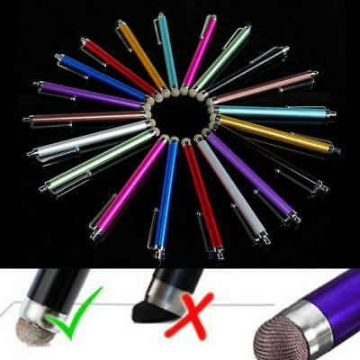 Metal Mesh Micro-Fiber Tip Touch Screen Stylus Pen For Smart Phone Tablet PC TOP