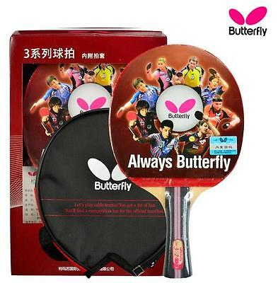 Japan BUTTERFLY TBC302 Table Tennis Racket FL Shakehand Long PING PONG Handle