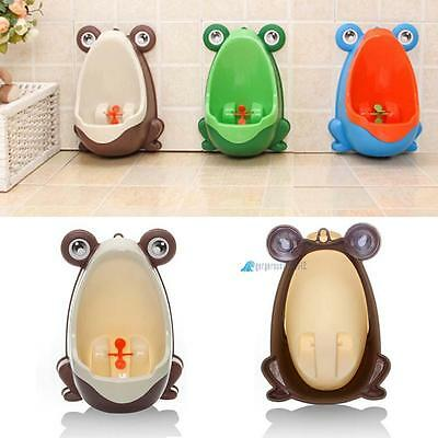 Frog Kids Childrens Baby Toddlers Toilet Training Potty Seat Trainer Bathroom GL