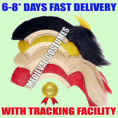 Black Plume Red Plume White Plume Yellow Plume For Greek Corinthian Helmet Nk49