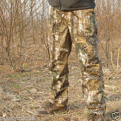 Men's Outdoor Bionic Military Tactical Hunting Pants Outdoor Real Tree Trousers