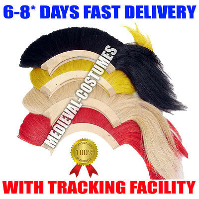 Black Plume Red Plume White Plume Yellow Plume For Greek Corinthian Helmet Nk50