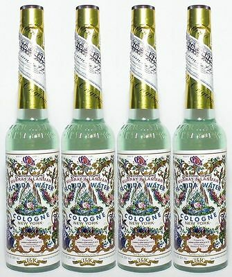 4 x Murray & Lanman Florida Water Cologne