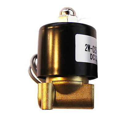 """1/4""""npt electric solenoid brass air valve for train horn fast suspension"""