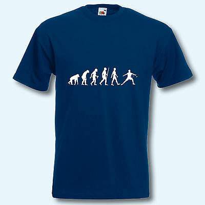 T-Shirt, Fun-Shirt, Evolution Badminton, S-XXXL
